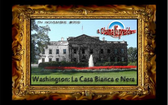 Black and white house (la casa nera e bianca)